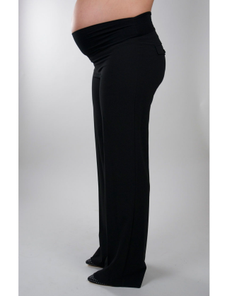 Maternity Pants With Flap Pockets