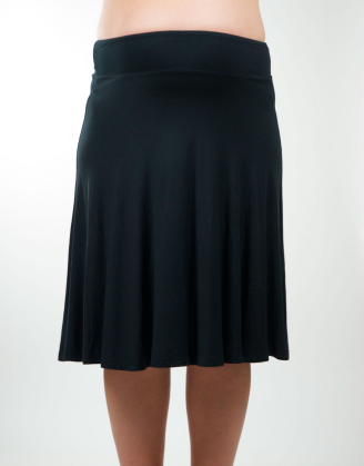 Basic A-line Maternity Skirt