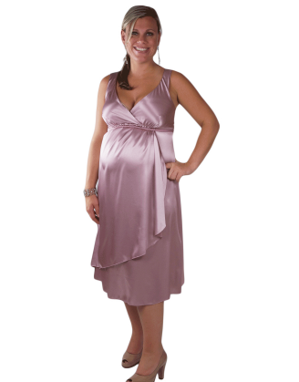 Pink Maggie Maternity Dress
