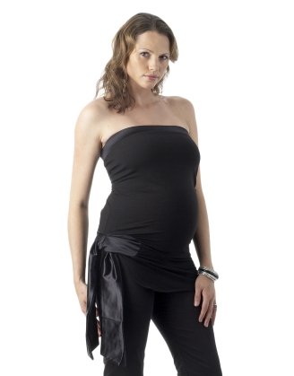 Evening Tube Maternity Top