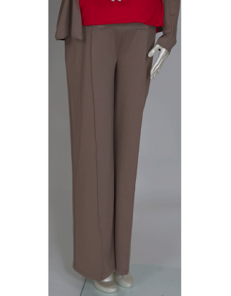 Flared Maternity Pant With Seam