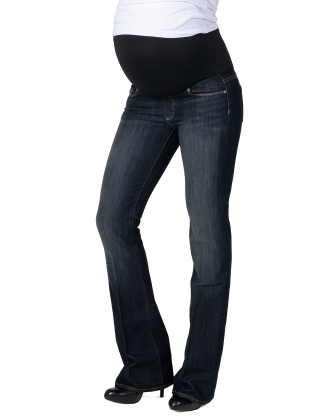 Laurel Canyon Overbelly Maternity Jeans - Renaissance
