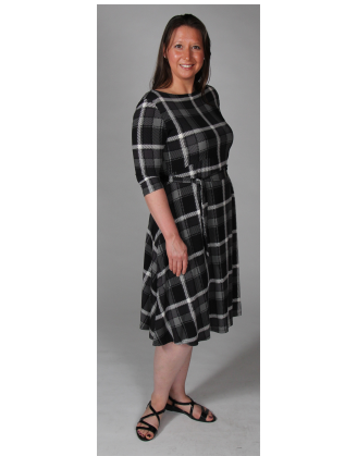 Scoop Back Scottie Illiana Maternity Dress
