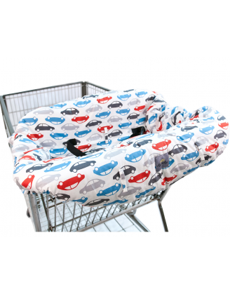 Shopping Cart/High Chair Cover (Rodeo Drive)