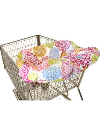 Shopping Cart/High Chair Cover( Fresh Bloom)