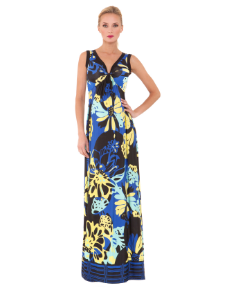 Ariana Spring II Maxi Maternity Dress