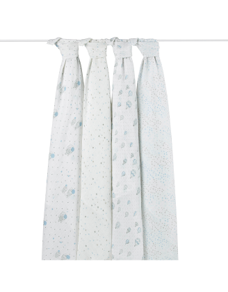 Night Sky 4 Pack Swaddle Set