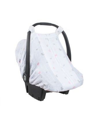 Chickadee Car Seat Cover