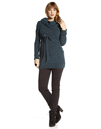 Cowlneck Maternity Sweater