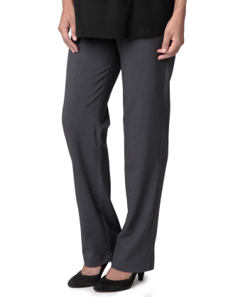 Charcoal Lancaster Maternity Pants
