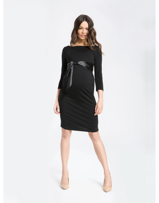 Black Dacja Maternity Dress