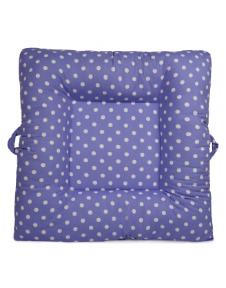 Purple Polka Dots Upholstered LaLaLounger