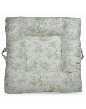 Childhood Toile Upholstered LaLaLounger