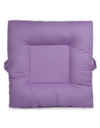 Solid Purple Upholstered LaLaLounger