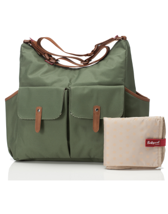 Frankie Moss Diaper Bag