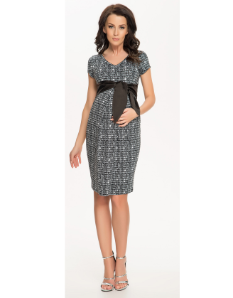 Cety Black Maternity Dress