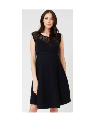 Ripe Maternity Chrysler Knit Skater Dress